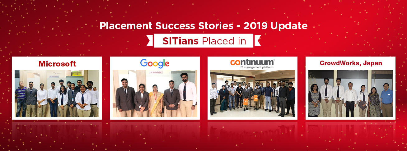 SIT Pune college placements